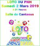 Lire la suite: Loto du PNH le samedi 02 Mars à Cantaous